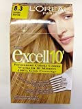 L'OREAL PARIS EXCELL 10 PERMANENT HAIR COLOUR 8.3 GOLDEN BLONDE