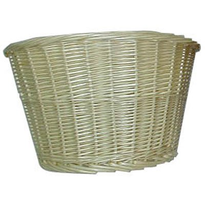Sunlite Natural Willow Front Bicycle Basket, 14