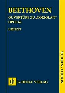 """Coriolan"" Overture op. 62 - orchestra - study score - ( HN 9042 ) by G. Henle Verlag"