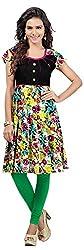 INDIAN FASHION LADY Women's Cotton Kurtas (Ifl-98 , Multicolor)