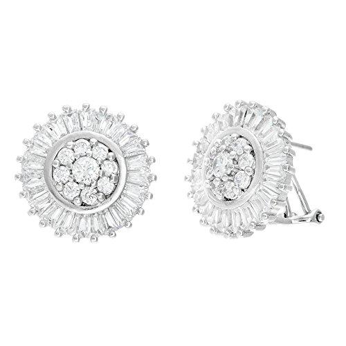 18k-white-gold-over-sterling-silver-cubic-zirconia-flower-design-baguette-halo-center-omega-earring