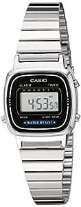 Casio Women's LA670WA-1 Daily Alarm Digital Watch