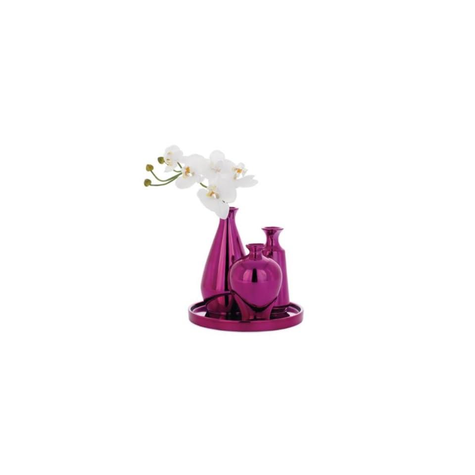 Torre & Tagus Mia Mini Bud Vase Set, Pink