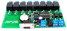 8 Relay Control On/Off via RS232 Port 2 Input Monitor Standalone (SC820) - Free Shipping Register Airmail