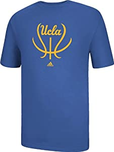 Buy adidas UCLA Bruins Air Force Blue Short Sleeve Basketball Groove T-Shirt by adidas