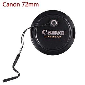 CowboyStudio 72mm Lens Cap for Canon Lens Replaces E-72U - Includes Lens Cap Holder