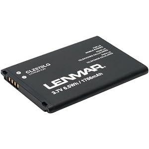 LENMAR CLZ570LG Replacement Battery for LG(R) Viper(TM) 4G, Cayman, Lucid(TM) 4G Cellular Phones