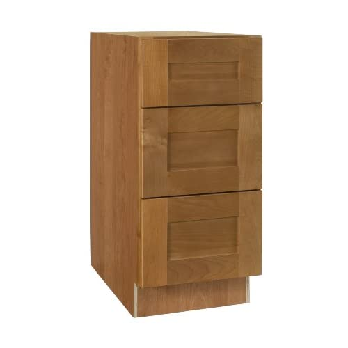 vbd12 hcn hawthorne maple cabinet 12 inch wide by 34 1 2