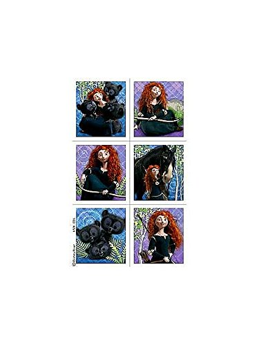 Disneys Brave Stickers 4pk