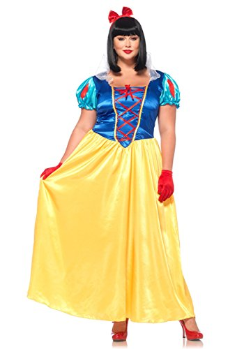 Halloween 2017 Disney Costumes Plus Size & Standard Women's Costume Characters - Women's Costume CharactersPlus Size Classic Snow White - Sizes Up to Plus Size 4x