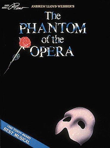 Andrew Lloyd Webber's The Phantom of the Opera (Easy Adult Piano)