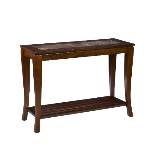 Southern Enterprises, Inc Cambria Brown Cherry Slate Sofa Table