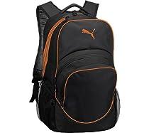 PUMA Teamsport Formation Ball Backpack,Black/Orange,US