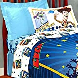 Twin Toy Story Bedding Set - Buzz Lightyear 3D Comforter Sheets - Twin Bed