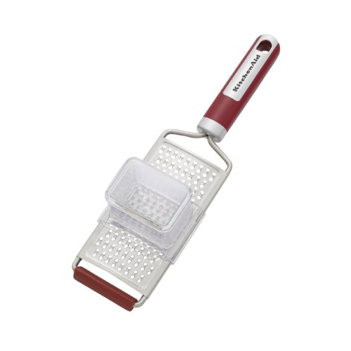 KitchenAid Gourmet Bi-Directional Flat Grater (Red) (Kitchenaid Food Chopper Red compare prices)