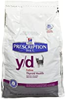 Hill's Prescription Diet y/d Feline Thyroid Health - 4lb