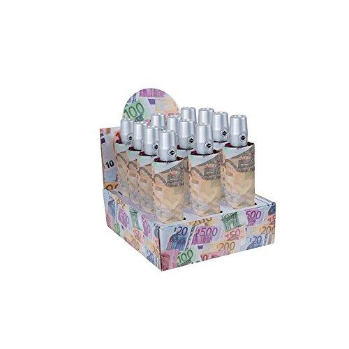 Oliviero Monti, Ombrello donna, fantasia banconote, Mini Richiudibile,Automatico, Apri-Chiudi 27cm, cod: 8029