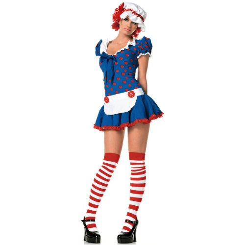 Rag Doll Costume - Small/Medium - Dress Size 4-8