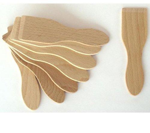 LAGRANGE Lot de 8 spatules en bois 509100