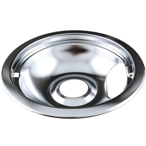 "Range Kleen Drip Bowl Chrome Small / 6"", Single Pack-101-Am"