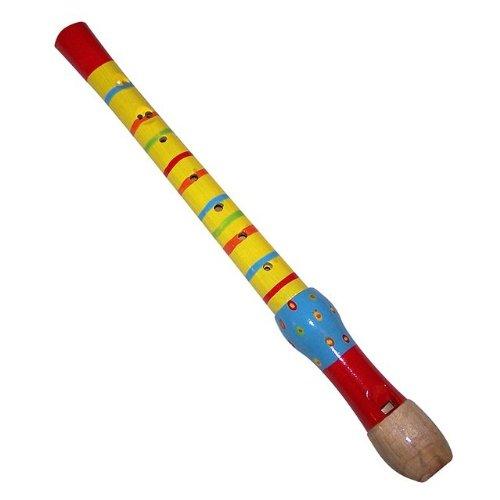 Diddy-Doo-Dahs / Stripe & Dot Wooden Recorder