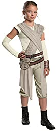 Star Wars: The Force Awakens Child\'s Deluxe Rey Costume, Large