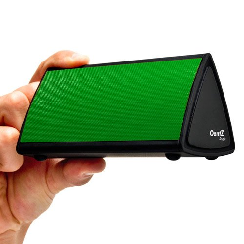 The Oontz Angle Ultra-Portable Wireless Bluetooth Speaker. Better Sound, Better Volume, Incredible Online Price - The Perfect Speaker To Take Everywhere With You This Summer (Green)