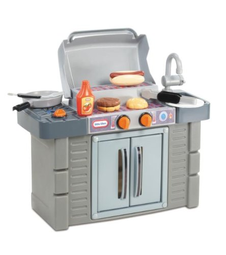 Little Tikes Cook N Grow Bbq Grill Pretend Grilling Toy