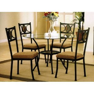 5pc dining table set dining room furniture sets furniture for Very small dining sets
