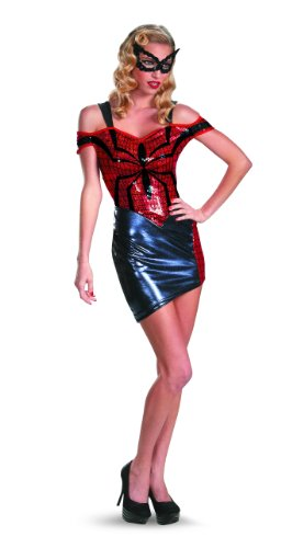 Disguise Marvel Women Of Mavel Spider-Man Spider-Girl Glam Womens Adult Costume