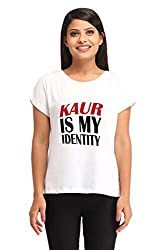 Snoby Kaur is my identity Printed T-shirt