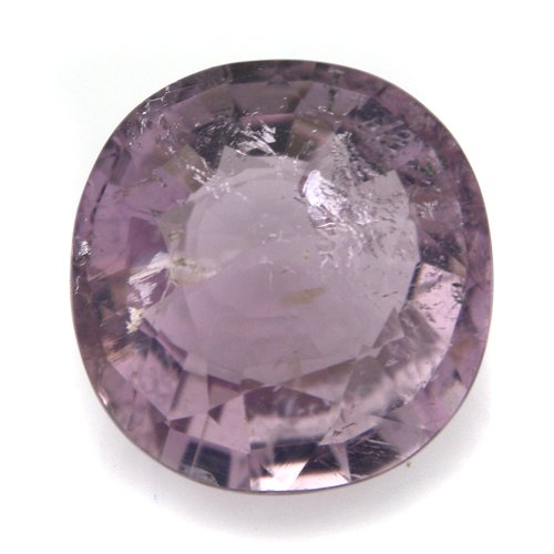 Natural Africa Pink Spinel Loose Gemstone Oval Cut 9mm 3cts SI Grade