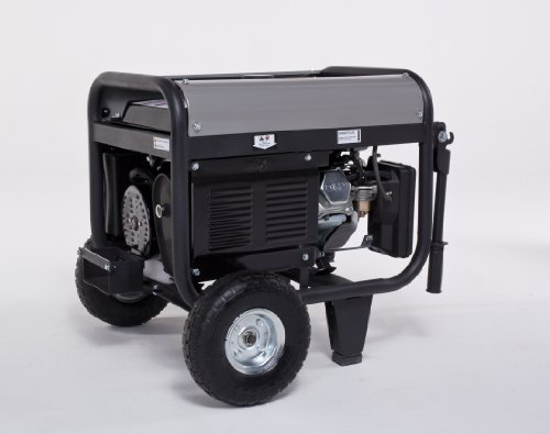 Lifan Lifan Platinum Series LF4000EPL-CA 4000 Watt Commerical/Contractor/Rental Grade 7 HP 211cc OHV Gas Powered Portable Generator with Electric Start and Wheel Kit (CARB Certified)