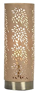 Oaks Lighting Tema Touch Table Lamp, Antique Brass, Sold in Pairs by Oaks Lighting