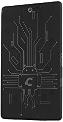 Case for Xperia Z3 Compact Tablet, Cruzerlite Bugdroid Circuit TPU Case for Sony Xperia Z3 Tablet Compact - Black