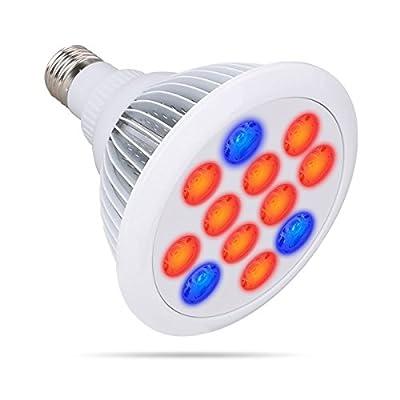 Growstar LED Plant Grow Lights E27 LED Grow Plant Light Growing Bulbs