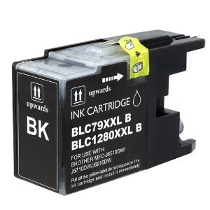 Brother LC79BK (LC-79BK) Black Super High Yield Compatible Inkjet/Ink Cartridge (2400 Yield)