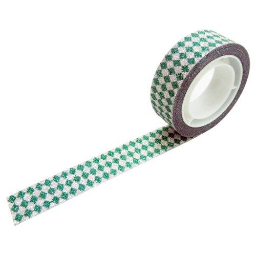 グリッターテープ ダイヤモンドグリーン