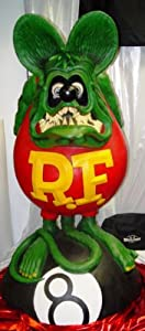 Rat Fink Life Size Statue figure Sideshow Collectibles Ed