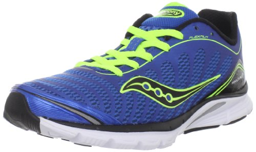 Saucony Saucony Men's Progrid Kinvara 3 Running Shoe,Blue/Citron,13 M US