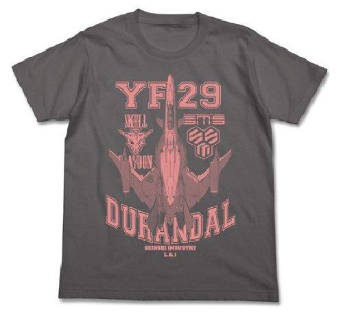 劇場版マクロス F~サヨナラノツバサ~ YF-29 Tシャツ ミディアムグレー サイズ:M