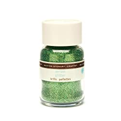 Martha Stewart Crafts Fine Glitter, Peridot, 1-1/2 Ounces