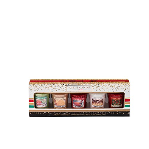 Yankee Candle Holiday Party 5 Votive Gift Set Q4 2016