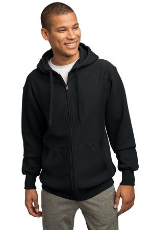 Sport-Tek Men's Super Heavyweight Full Zip Hooded Sweatshirt XL Black
