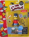BARTMAN The Simpsons Series 5 World Of Springfield Interactive Action Figure