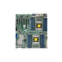 SuperMicro MBD-X9DR7-LN4F-B - LGA2011 Intel C602 Chipset EATX Server Motherboard DDR3 SATA/SAS VGA PCIE3.0 Gigabit LAN