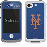 MLB - New York Mets - New York Mets - Solid Distressed - Skin For Lifeproof IPhone 4/4s Case