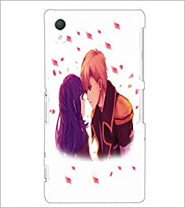 PrintDhaba Couple D-4700 Back Case Cover for SONY XPERIA Z3 (Multi-Coloured)