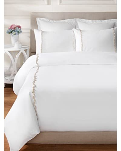 Peacock Alley Ruffle Duvet Set