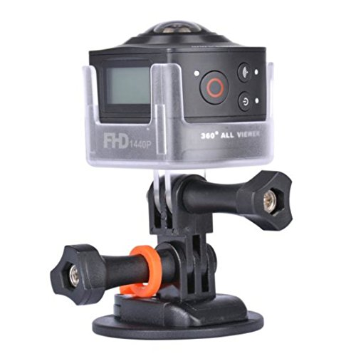 WensLTD AMKOV AMK100S 360 Degree 8MP 1440P WiFi Action Camera without Waterproof Case